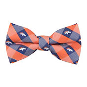Eagles Wings Denver Broncos Checkered Bow Tie