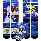 Minnesota Vikings Adrian Peterson Rush Socks