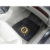 FANMATS Boston Bruins Two Piece Heavy Duty Vinyl Car Mat Set