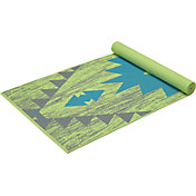 Gaiam 4mm Premium Print Aztec Yoga Mat