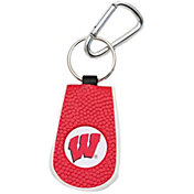 Wisconsin Badgers Classic Basketball Keychain