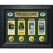 The Highland Mint Green Bay Packers Super Bowl Ticket and Coin Collection