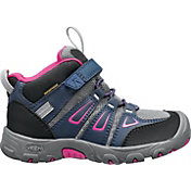 KEEN Kids' Oakridge Mid Waterproof Hiking Boots