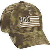 Kryptek Men's Americana Tonal Flag Camo Hat