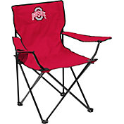 Ohio State Buckeyes Team-Colored Canvas Chair