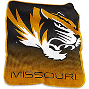Missouri Tigers Raschel Throw