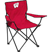 Wisconsin Badgers Team-Colored Canvas Chair