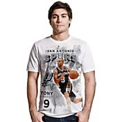 Levelwear Men's San Antonio Spurs Tony Parker Center Court White T-Shirt