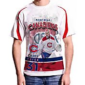Levelwear Men's Montreal Canadiens Carey Price #31 Center Ice White T-Shirt