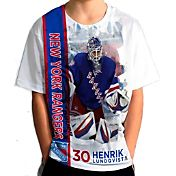 Levelwear Youth New York Rangers Henrik Lundqvist #30 Breakaway White T-Shirt