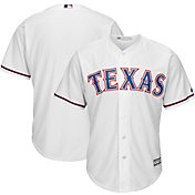 Majestic Boys' Replica Texas Rangers Cool Base Home White Jersey