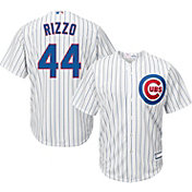 Majestic Youth Replica Chicago Cubs Anthony Rizzo #44 Cool Base Home White Jersey
