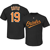 Majestic Youth Baltimore Orioles Chris Davis #19 Black T-Shirt