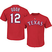 Majestic Youth Texas Rangers Rougned Odor #12 Red T-Shirt