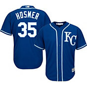 Majestic Youth Replica Kansas City Royals Eric Hosmer #35 Cool Base Alternate Royal Jersey