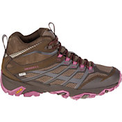 Merrell Women's Moab FST Mid Waterproof Hiking Shoes