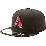 New Era Men's Arizona Diamondbacks 59Fifty Alternate Black Authentic Hat