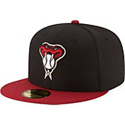New Era Men's Arizona Diamondbacks 59Fifty Diamond Era Black Fitted Hat