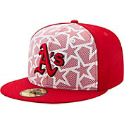 New Era Men's Oakland Athletics 59Fifty 2016 4th of July Authentic Hat
