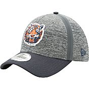 New Era Men's Detroit Tigers 39Thirty Clubhouse Grey/Navy Flex Hat