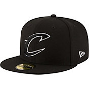 New Era Men's Cleveland Cavaliers 59Fifty Black Fitted Hat