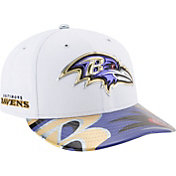 New Era Men's Baltimore Ravens 2017 NFL Draft 59Fifty Fitted White Hat