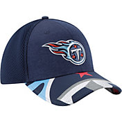 New Era Men's Tennessee Titans 2017 NFL Draft 39Thirty Adjustable Navy Hat
