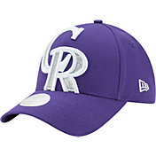 New Era Women's Colorado Rockies 9Forty Glitter Glam Adjustable Hat