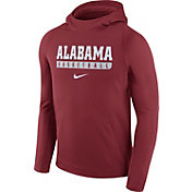 Nike Men's Alabama Crimson Tide Crimson Basketball Performance Hoodie