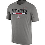 Nike Men's Ohio State Buckeyes Gray Football Staff Legend T-Shirt