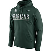 Nike Men's Michigan State Spartans Green Circuit PO Hoodie