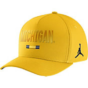 Jordan Men's Michigan Wolverines Maize Seasonal Swoosh Flex Classic99 Hat