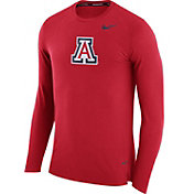 Nike Men's Arizona Wildcats Cardinal March Basketball Performance Sleeve Shirt