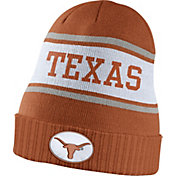 Nike Men's Texas Longhorns Burnt Orange Sideline Knit Performance Beanie