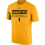 Nike Men's Iowa Hawkeyes Gold Team Issue Legend Baseball T-Shirt