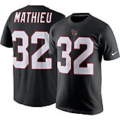 Nike Men's Arizona Cardinals Tyrann Mathieu #32 Pride Black T-Shirt