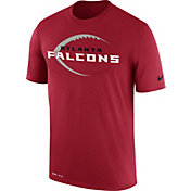 Nike Men's Atlanta Falcons Legend Icon Performance Red T-Shirt