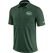 Nike Men's New York Jets Sideline 2017 Early Season Green Polo