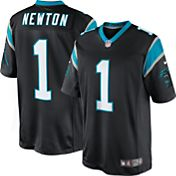 Nike Men's Home Limited Jersey Carolina Panthers Cam Newton #1