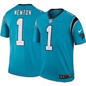 Nike Men's Color Rush 2016 Carolina Panthers Cam Newton #1 Legend Game Jersey