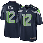 Nike Men's Home Limited Jersey Seattle Seahawks Fan #12