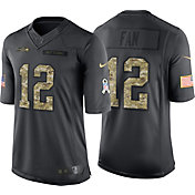 Nike Men's Home Limited Jersey Seattle Seahawks Fan #12 Salute to Service 2016