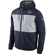 Nike Men's Houston Texans Championship Drive 2016 Fleece Navy Full-Zip Hoodie