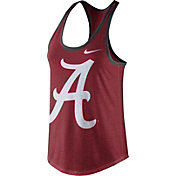 Nike Women's Alabama Crimson Tide Crimson Dri-Blend Tank Top
