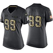 Nike Women's Home Game Jersey Houston Texans J.J. Watt #99 Salute to Service 2016