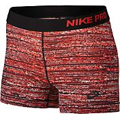 Nike Women's 3'' Pro Static Printed Shorts