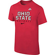 Nike Youth Ohio State Buckeyes Scarlet Core Facility Football Sideline T-Shirt