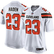 Nike Youth Away Game Jersey Cleveland Browns Joe Haden #23