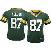 Nike Boys' Home Game Jersey Green Bay Packers Jordy Nelson #87