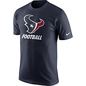 Nike Youth Houston Texans Facility Navy T-Shirt